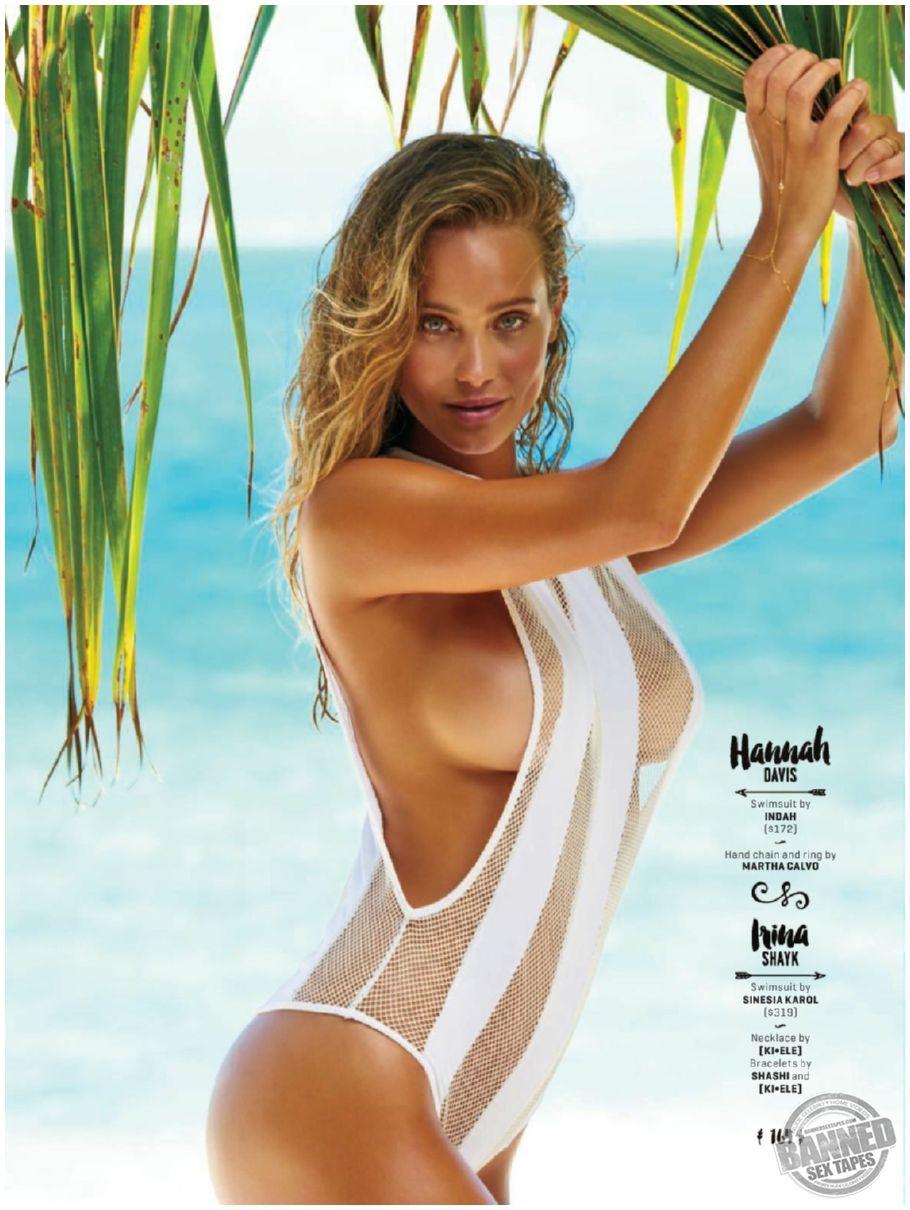 Nackt hannah davis Hannah Davis