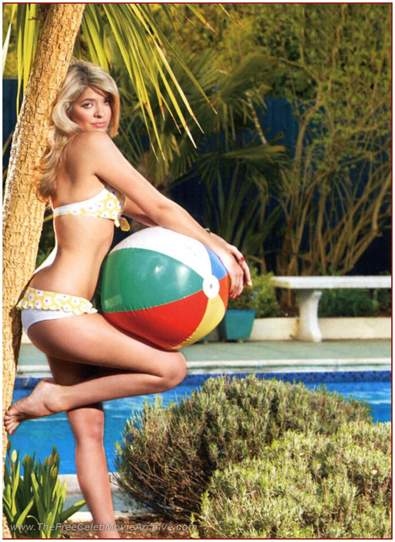 Holly willoughby boob flash theme, will