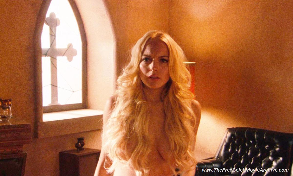 Lindsay lohan movie topless
