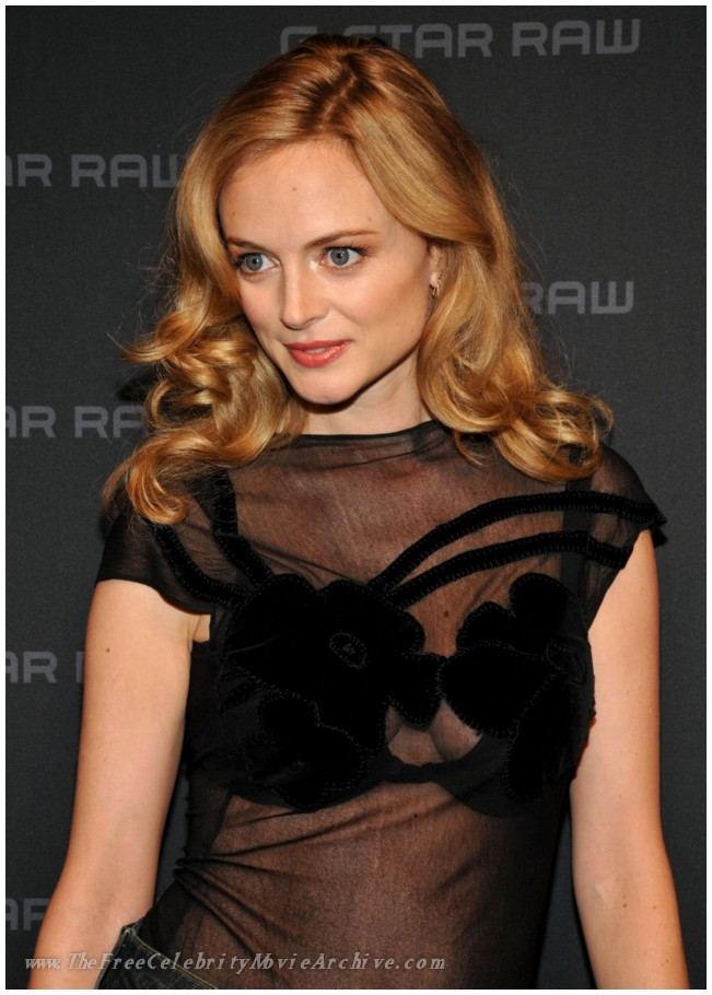 Heather Graham - Celebrity Sizzle
