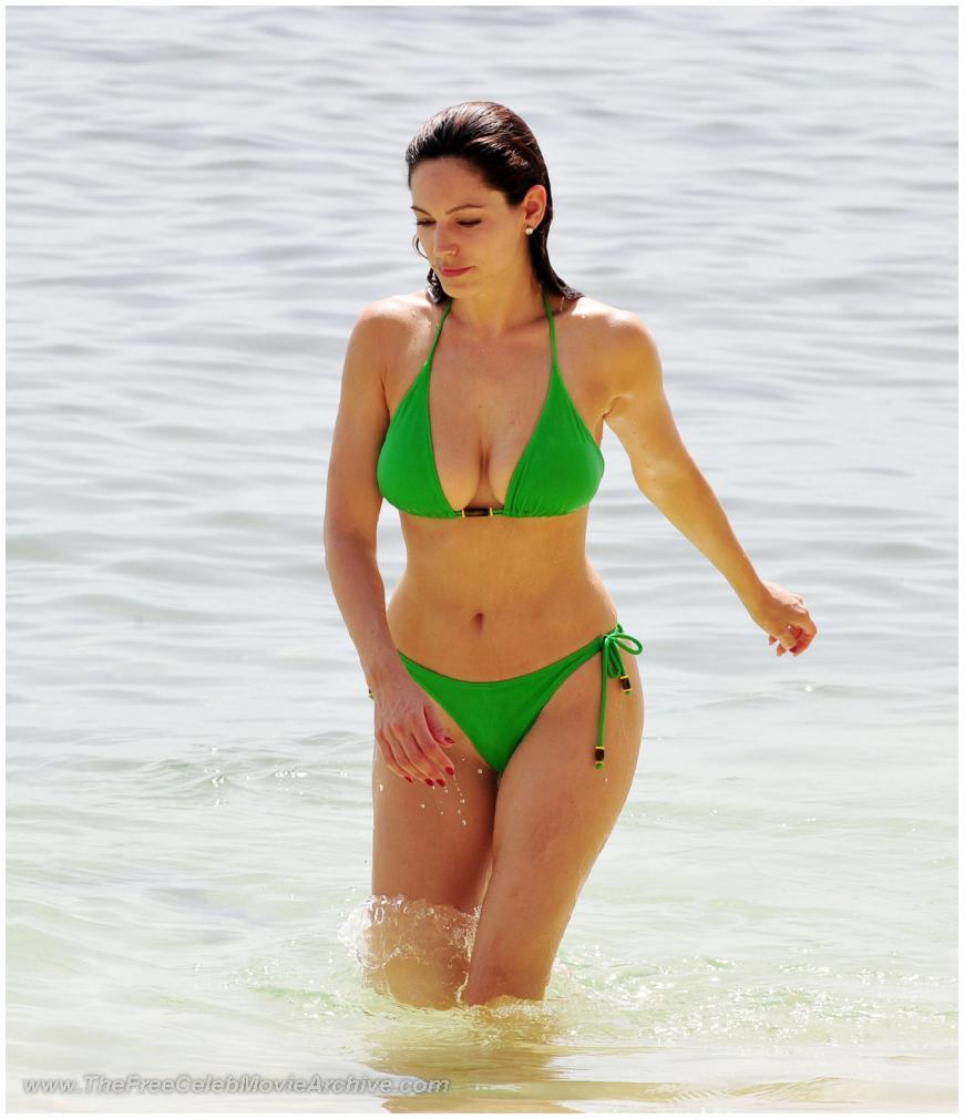 Jennifer garner blue bikini